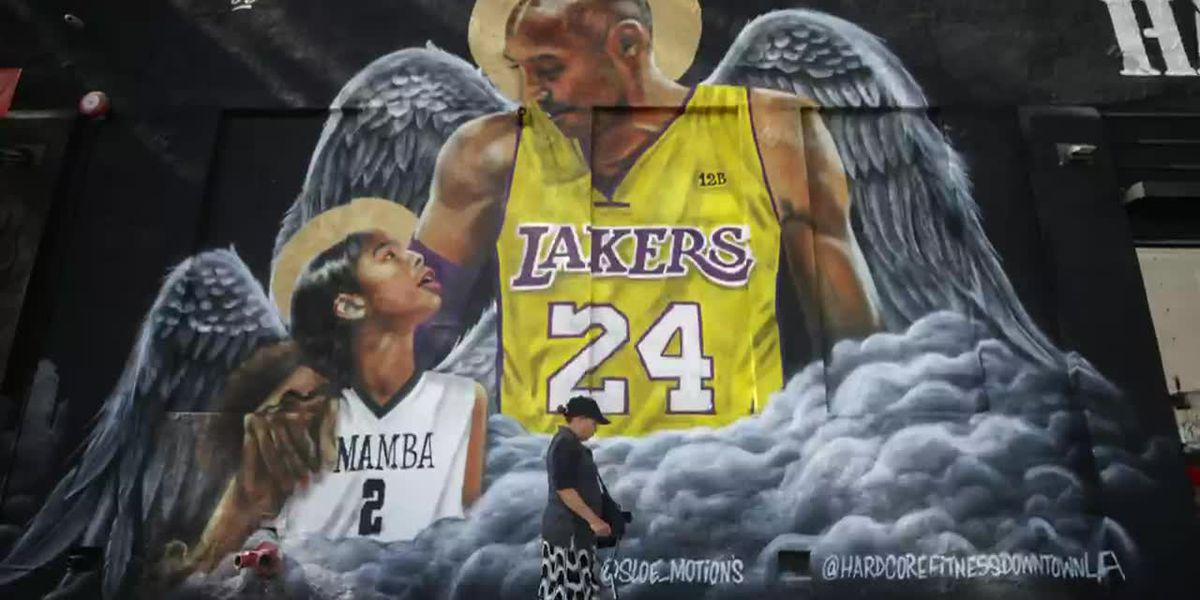 Kobe Bryant remembered one year after fatal crash