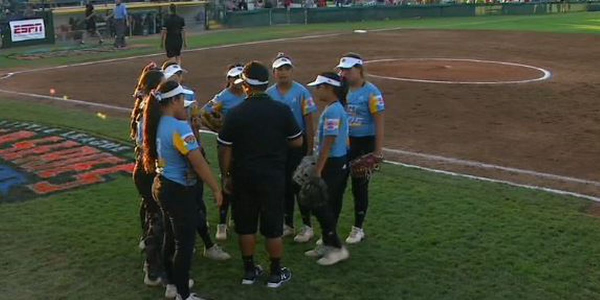 Hawaii falls to Italy 4-1 in Little League Softball World Series