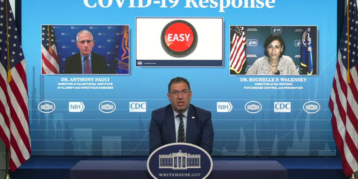 WH COVID response briefing: Now you can text for vaccine locations