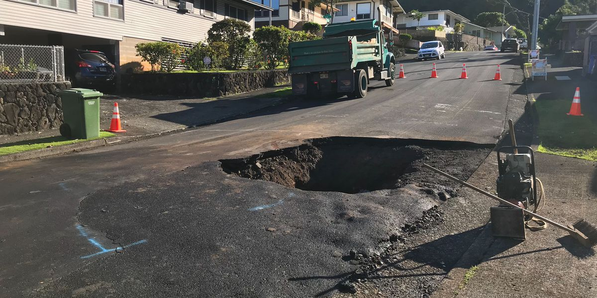 Repairs complete to a broken water main in Nuuanu