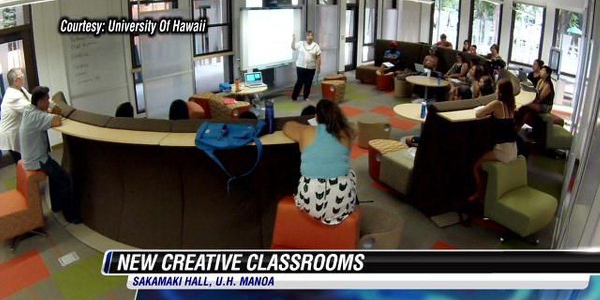University of Hawaii unveils creative classrooms