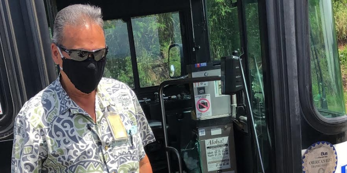 Showing appreciation for a special Honolulu city bus driver