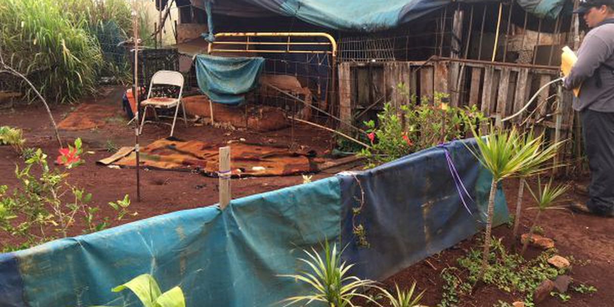 Homeless on large Wahiawa parcel to be moved out