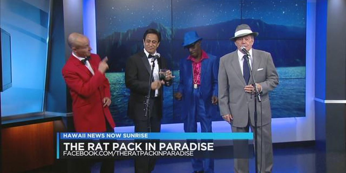 The Rat Pack In Paradise puts on show for Valentine's Day