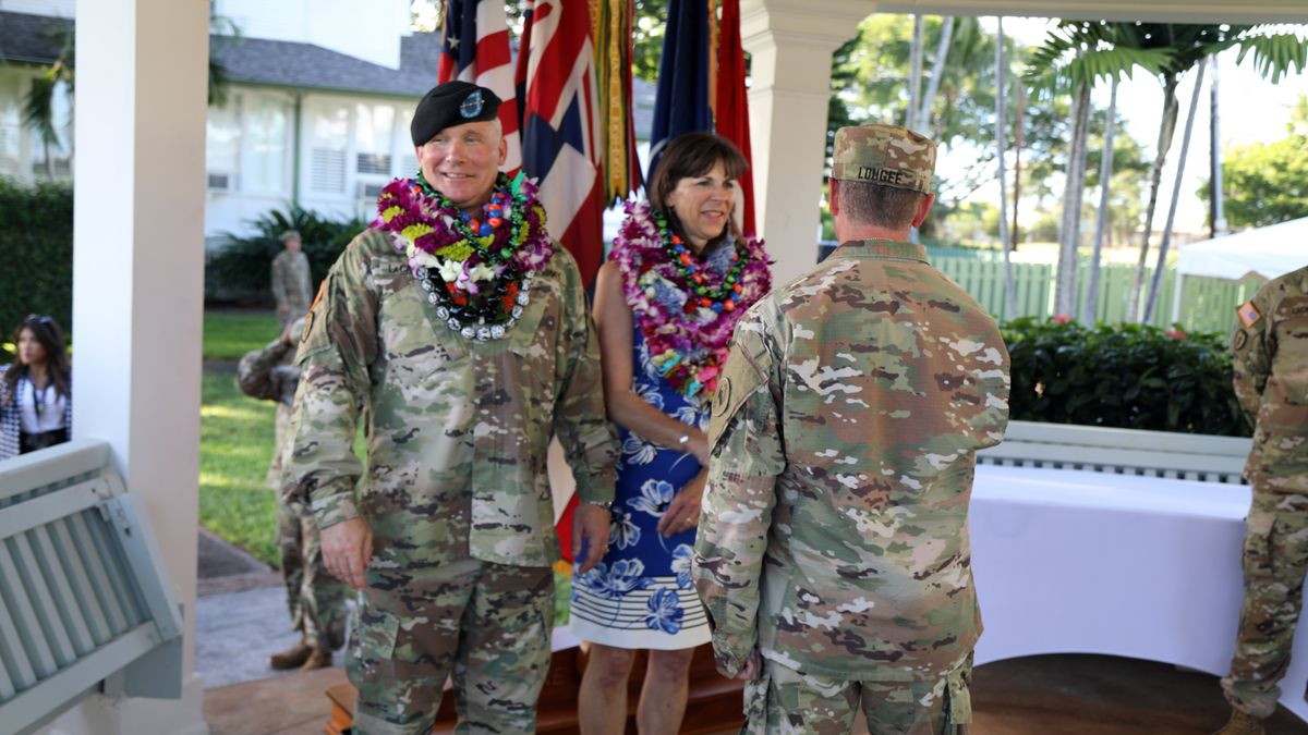 Gen. LaCamera assumes role in change of command ceremony