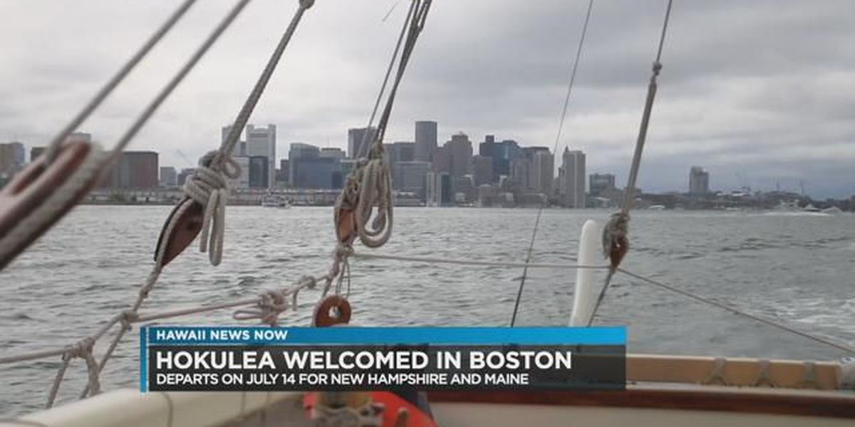 Hokulea continues East Coast journey with stop in Boston