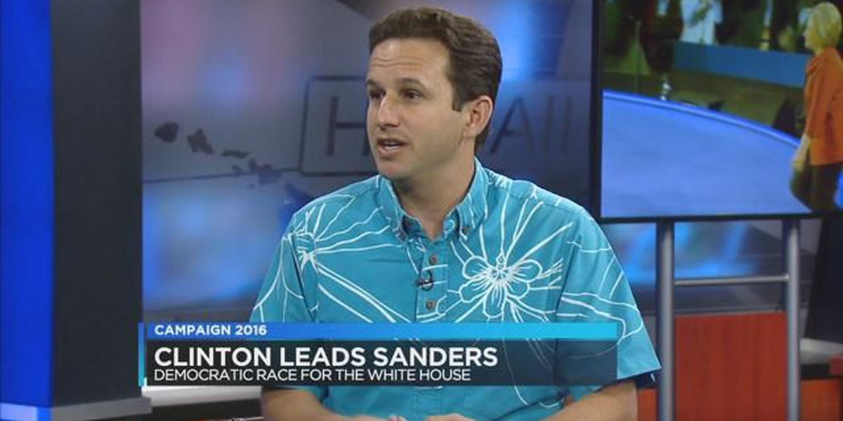 Sen. Brian Schatz explains why he's supporting presidential candidate Hillary Clinton
