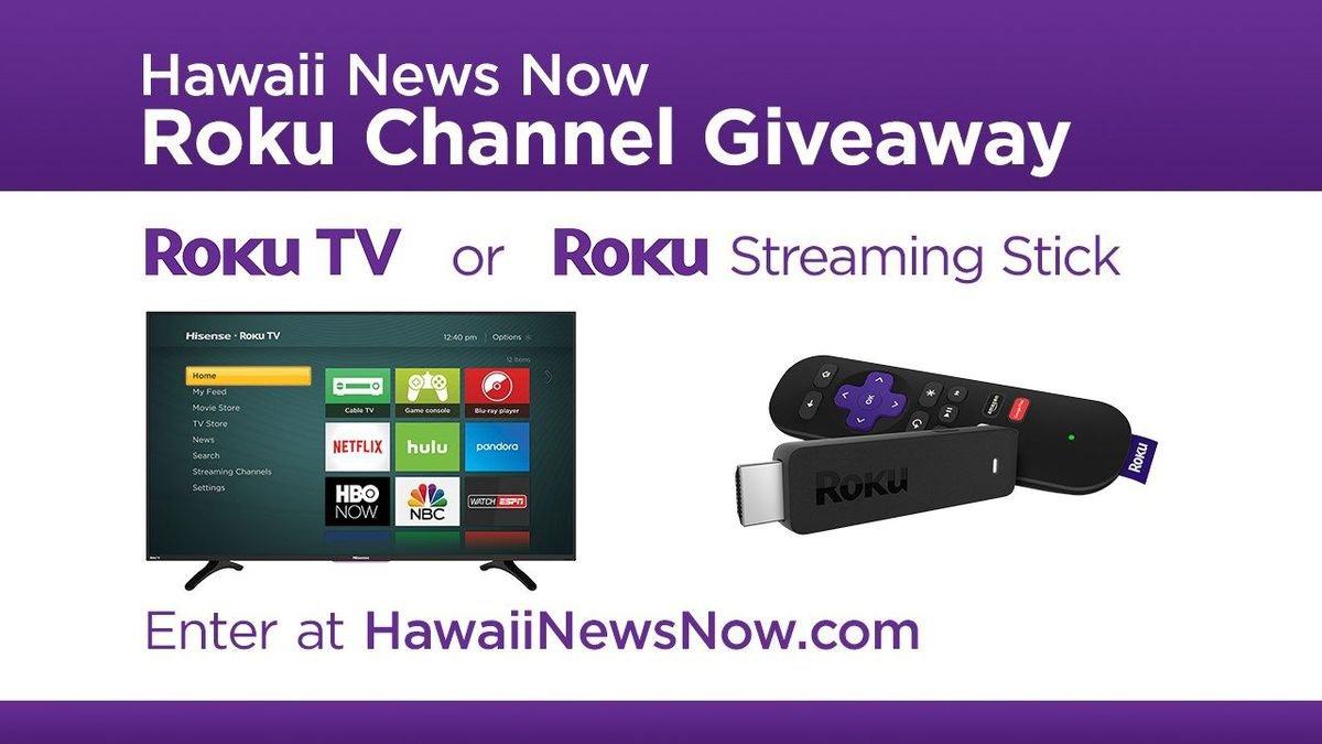 Hawaii News Now Roku Channel Giveaway - Official Contest Rules