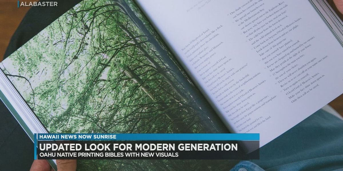 Oahu native helps design updated version of Bible for modern generation