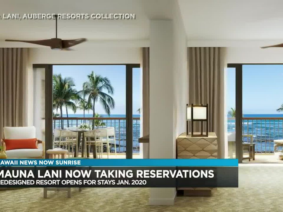 Newly-redesigned Mauna Lani, Auberge resort now taking reservations
