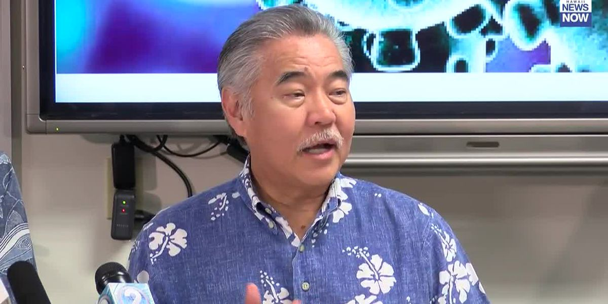 Ige issues emergency proclamation to streamline state's response to coronavirus