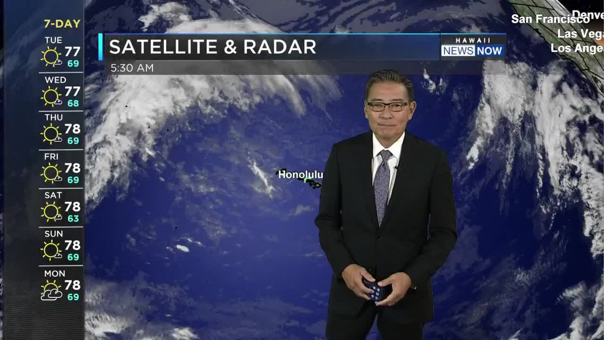 HNN Morning Web Weather Tuesday, April 6, 2021