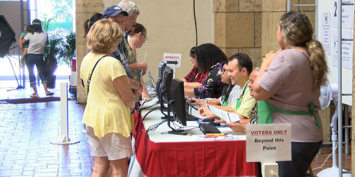 Despite easier registration rules, early voting figures remain low