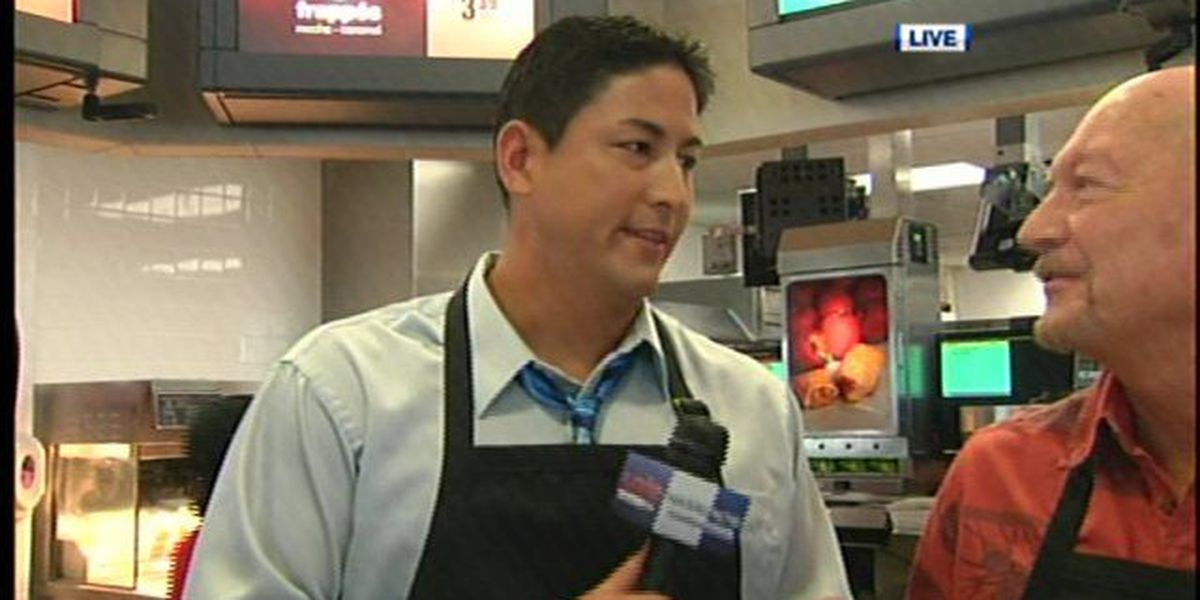 Local celebrities lend a hand for McHappy Day