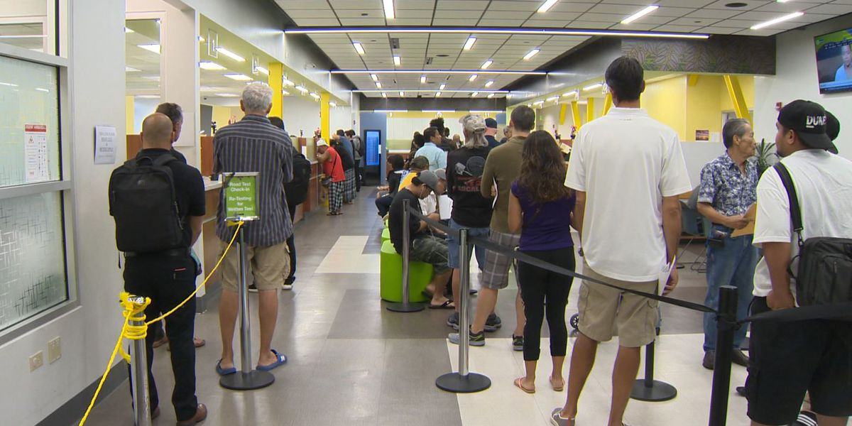 Got business at the DMV? Offices are slowly reopening island by island