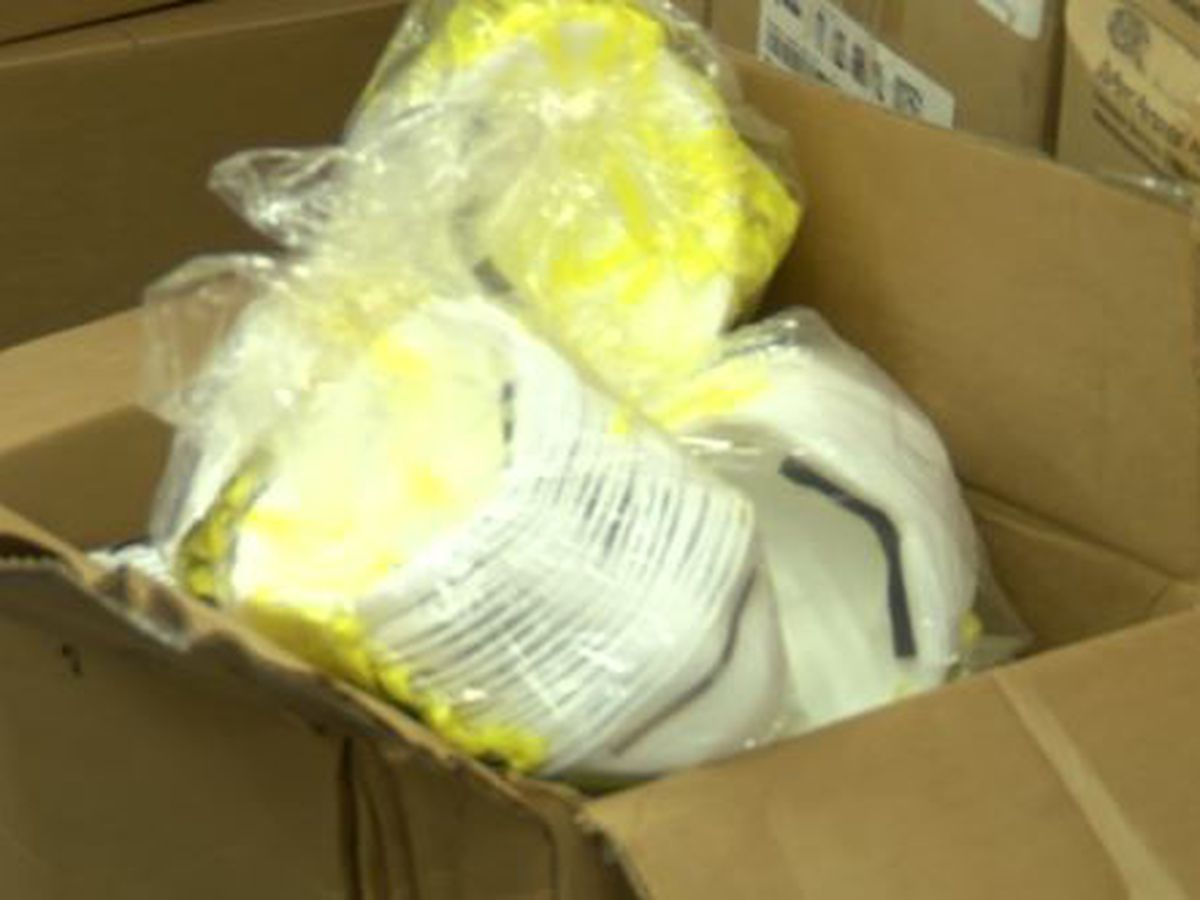 Thieves steal $250K worth of protective gear that was destined for hospitals, first responders