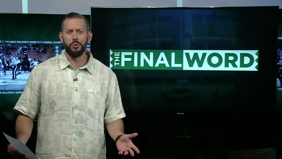 The Final Word: A Sign of Things To Come?
