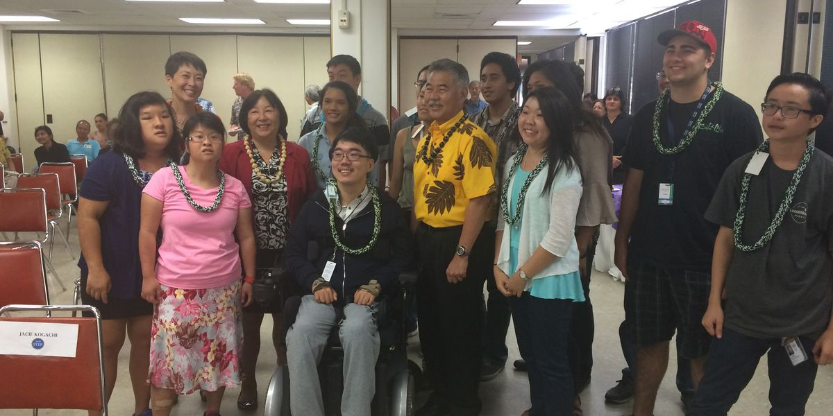 Disabled youth gain job experience with state internships