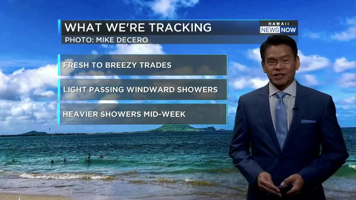First Alert Web Forecast for Monday