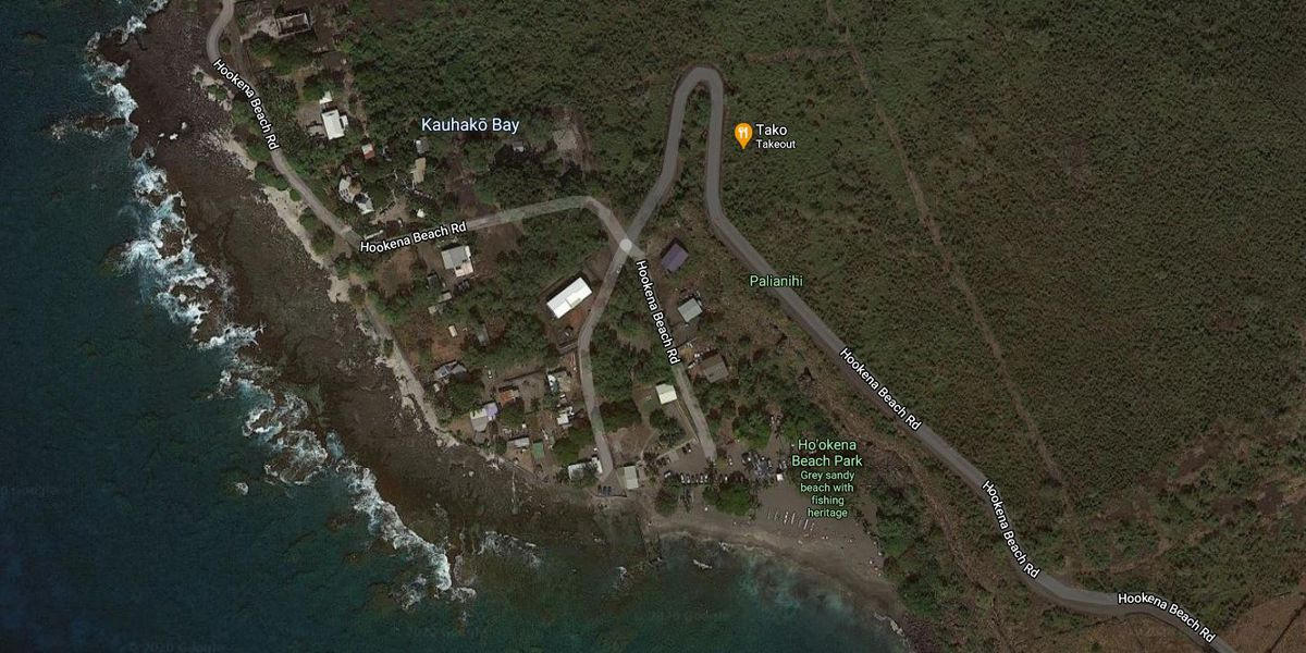 Flames tear through a Hawaii Island home; 3 people escape unharmed