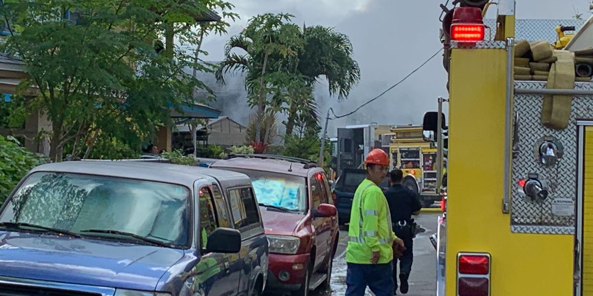 Woman dies of injuries sustained in large Kalihi building fire