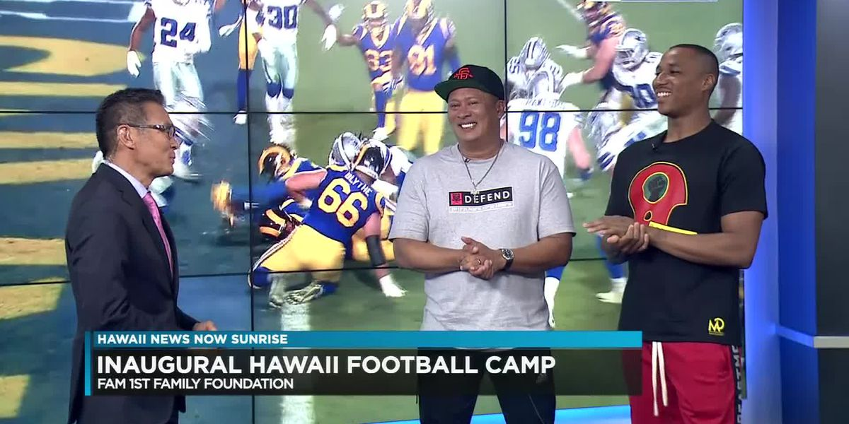 NFL stars to host free football camp and fundraiser