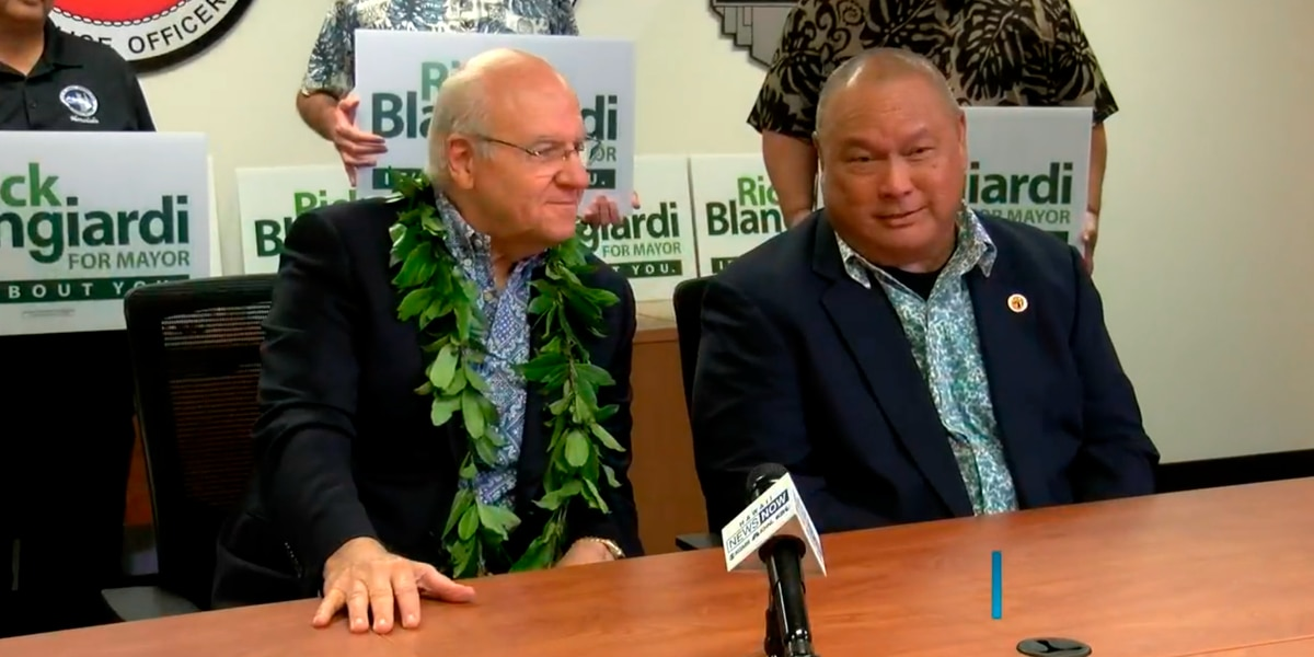 Hawaii police union announces endorsement in Honolulu mayoral race