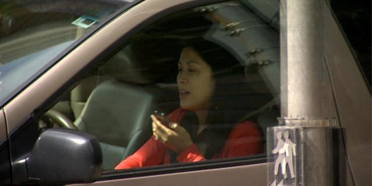 Kauai police crack down on drivers using cell phones