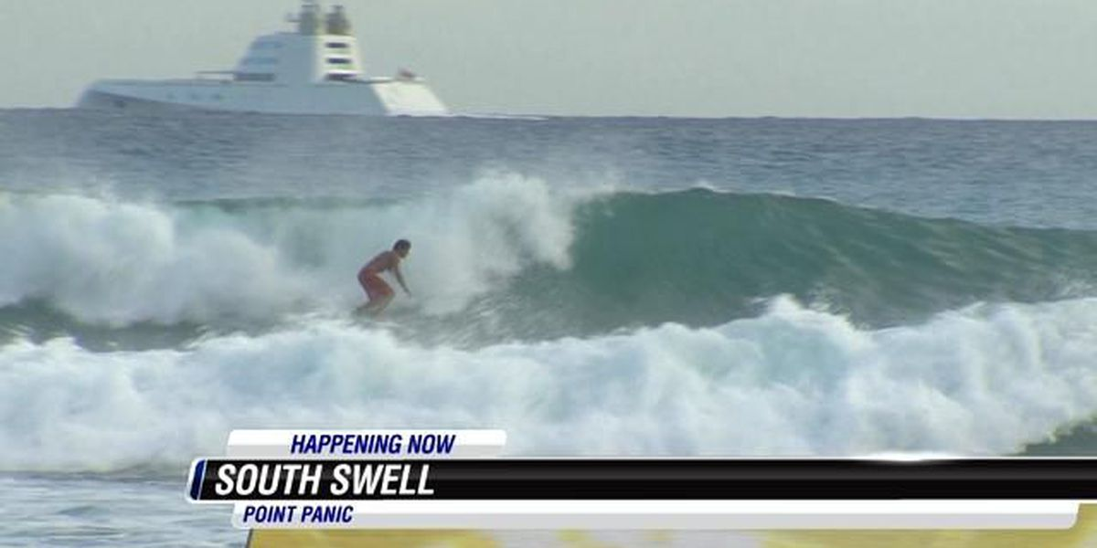 High surf advisory issued for south-facing shores