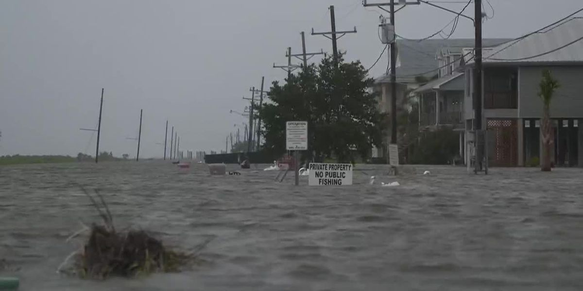 Barry moves inland as flooding concerns rise