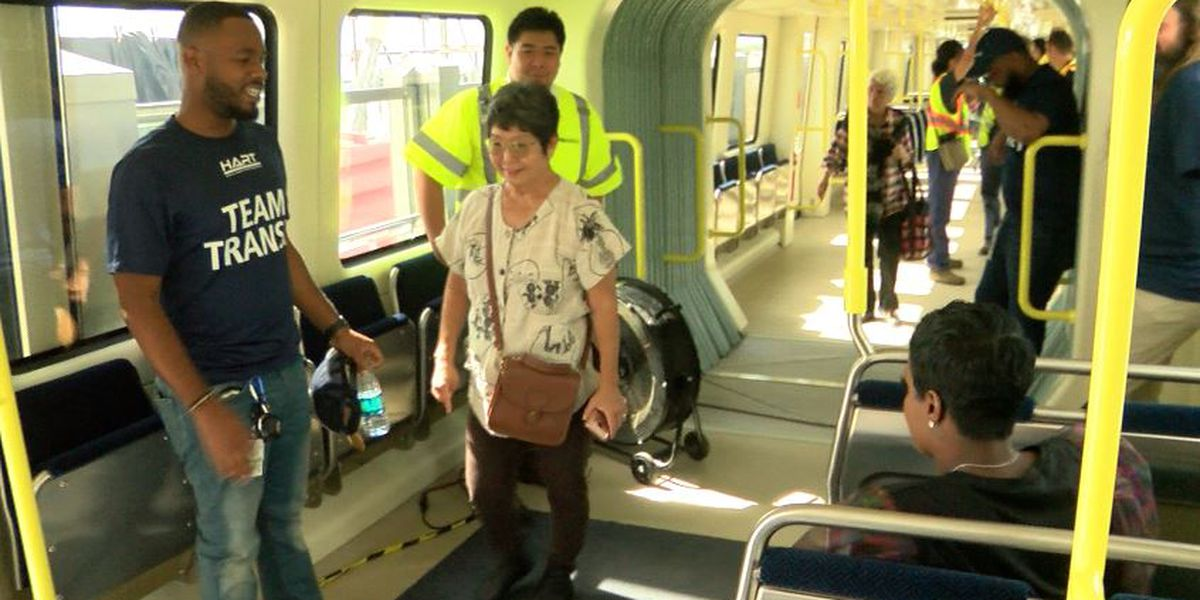 Meetings set for public input on how much it should cost to ride the rail