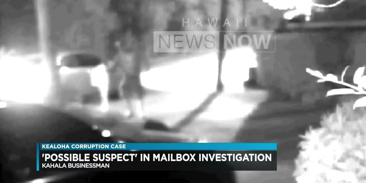 """Kahala businessman stunned to be labelled """"possible suspect"""" in Kealoha mailbox theft"""