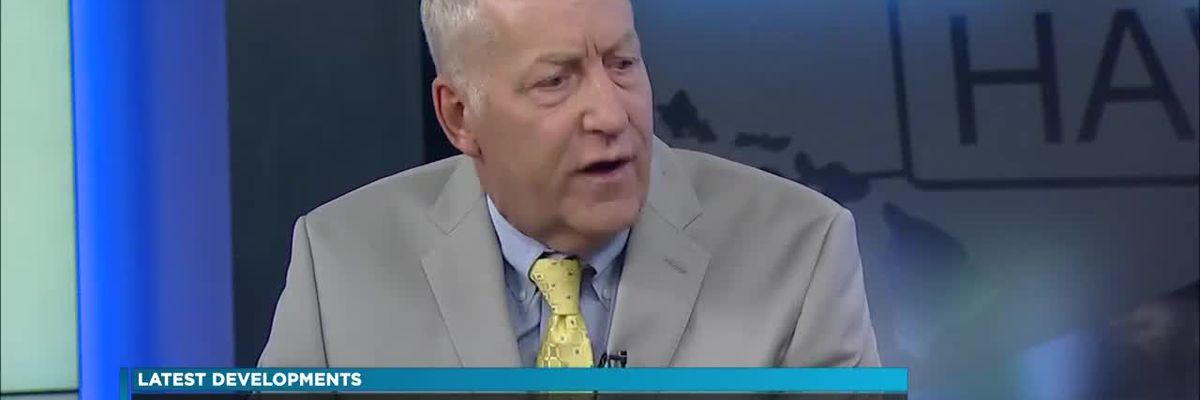 Peter Carlisle discusses the attorney general's request for Kaneshiro's suspension