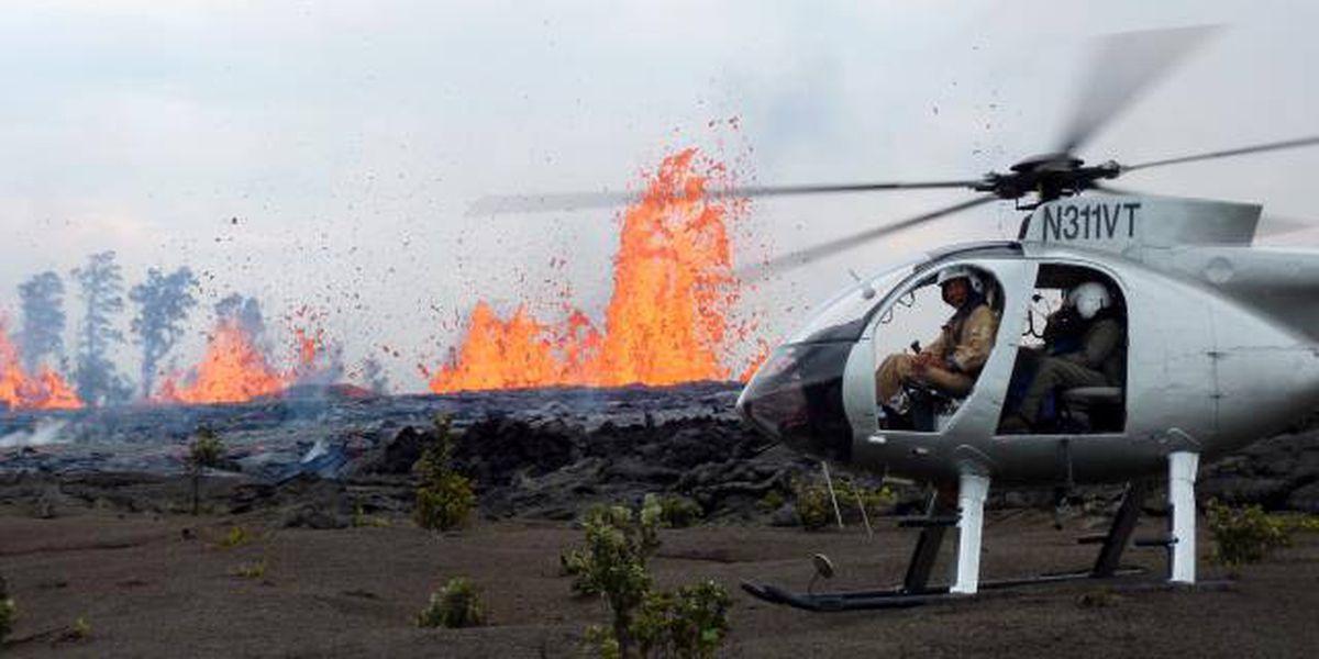Tour helicopter makes emergency landing on Kohala Mountain