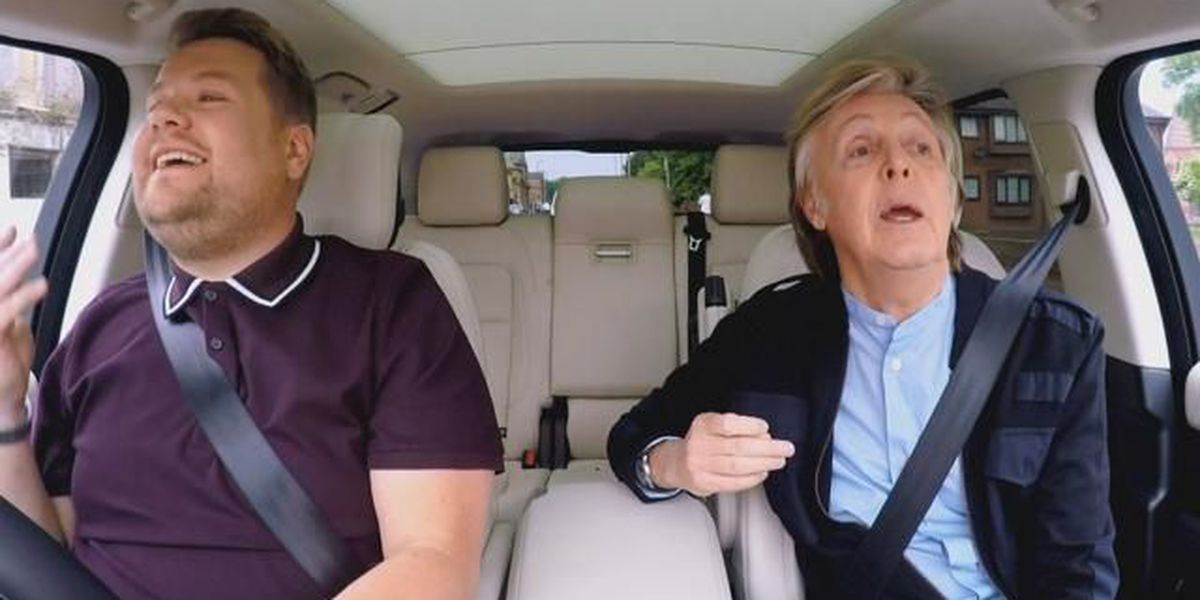 Trending - Carpool karaoke with Paul McCartney, cocooning and pug shares Friday feels