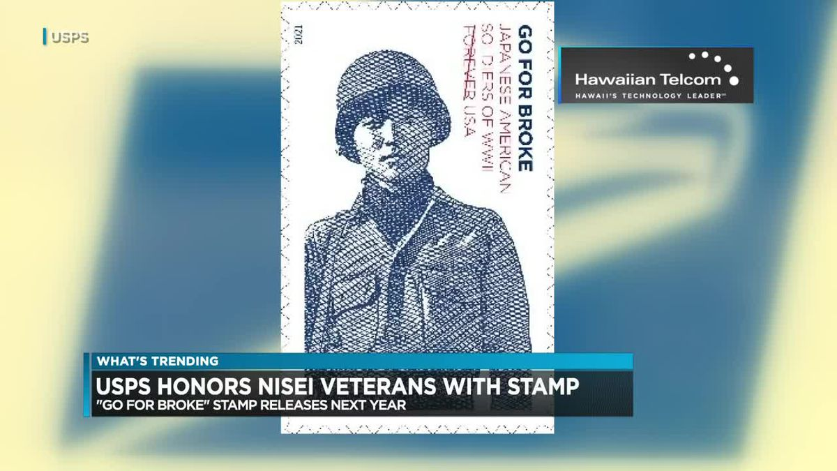 What's Trending: Nisei soldiers honored in USPS stamp