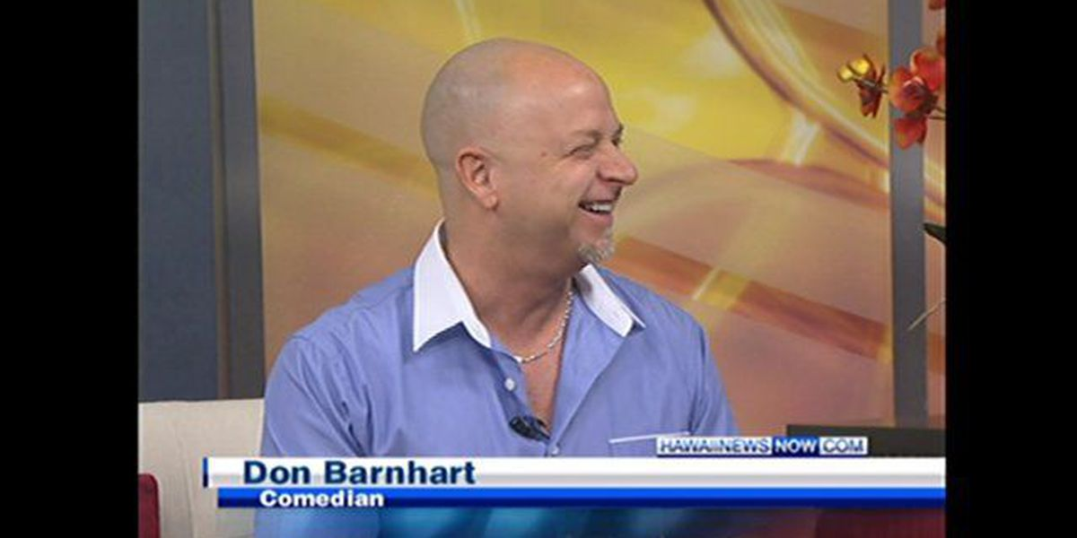 Comedian Don Barnhart performs at Pipeline Cafe