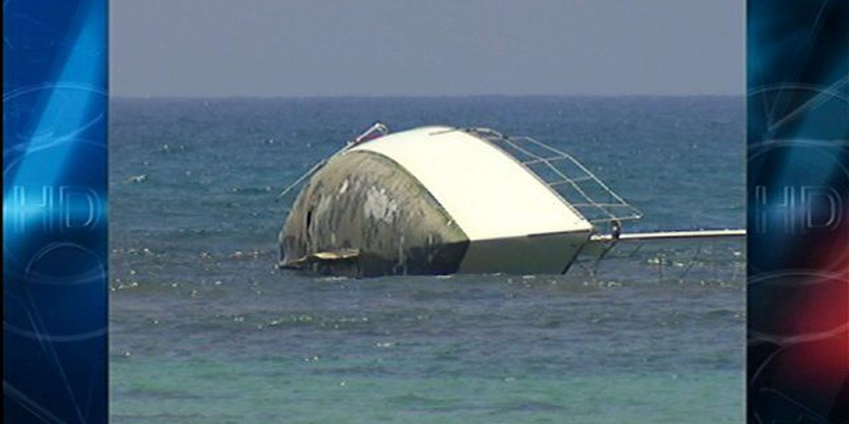 Boat owner has run aground before