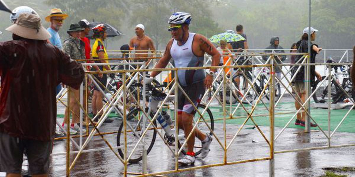 Hundreds compete in this year's inaugural Hilo triathlon