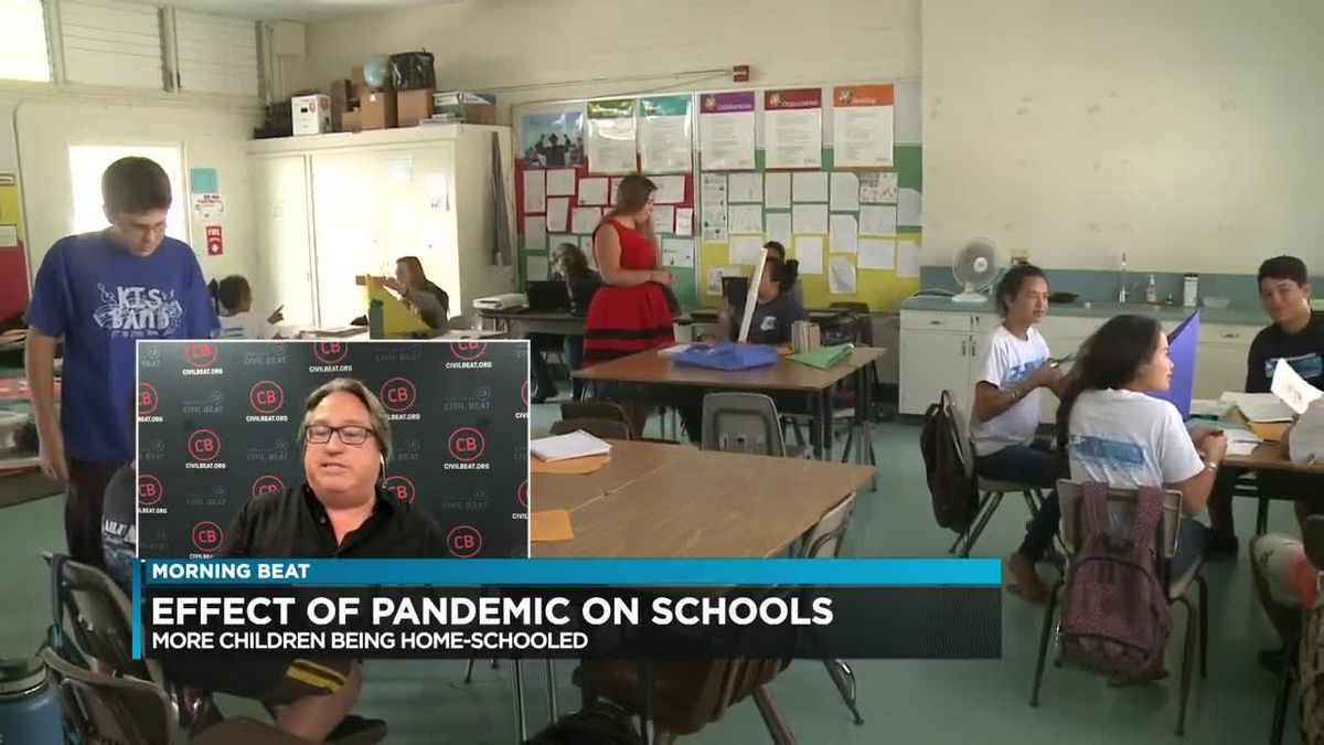 Morning Beat: DOE sees rise in families choosing to home school children during pandemic
