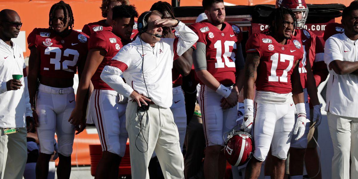 Multiple Alabama football players test positive for coronavirus