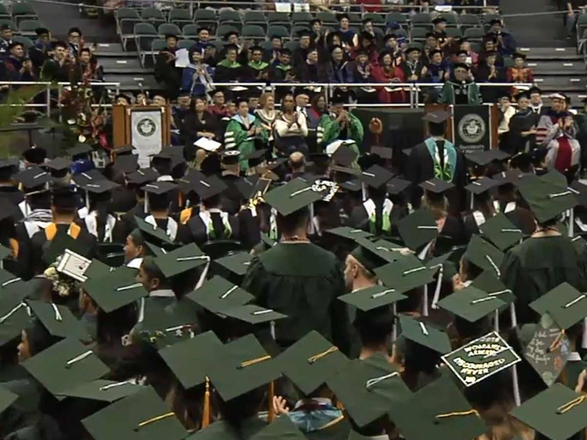 University of Hawaii holds mid-year commencement ceremony for hundreds of graduates
