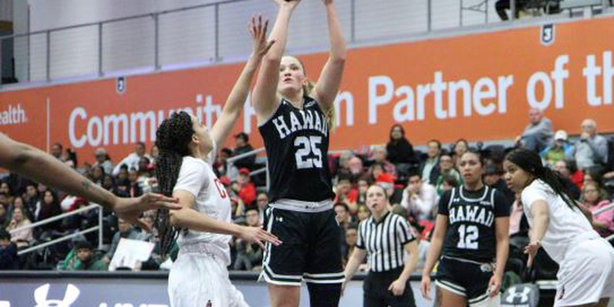 Wahine seal No. 2 spot in Big West with 69-68 win over CSUN