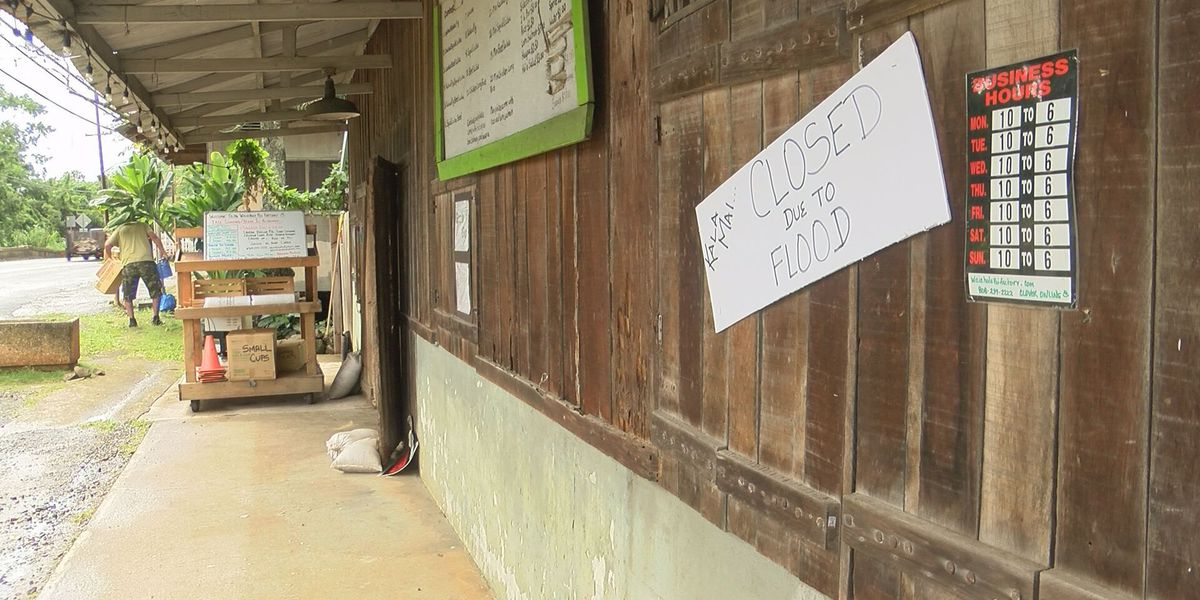 Windward Oahu businesses inundated by floodwaters hope to reopen soon