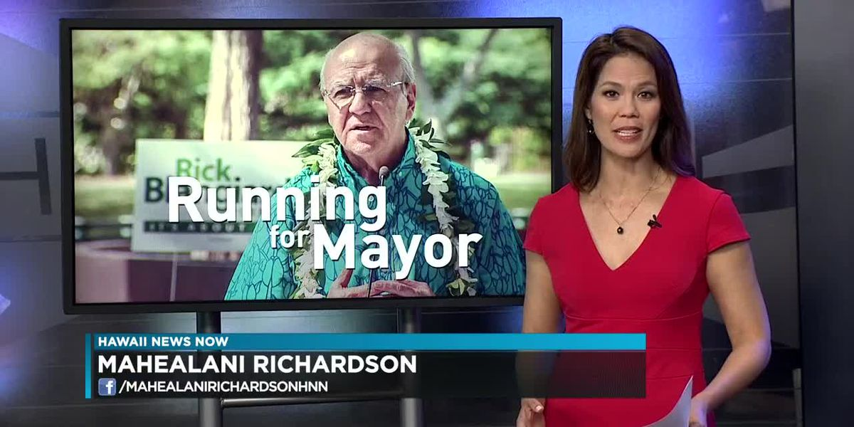 Former HNN General Manager Rick Blangiardi announces run for mayor