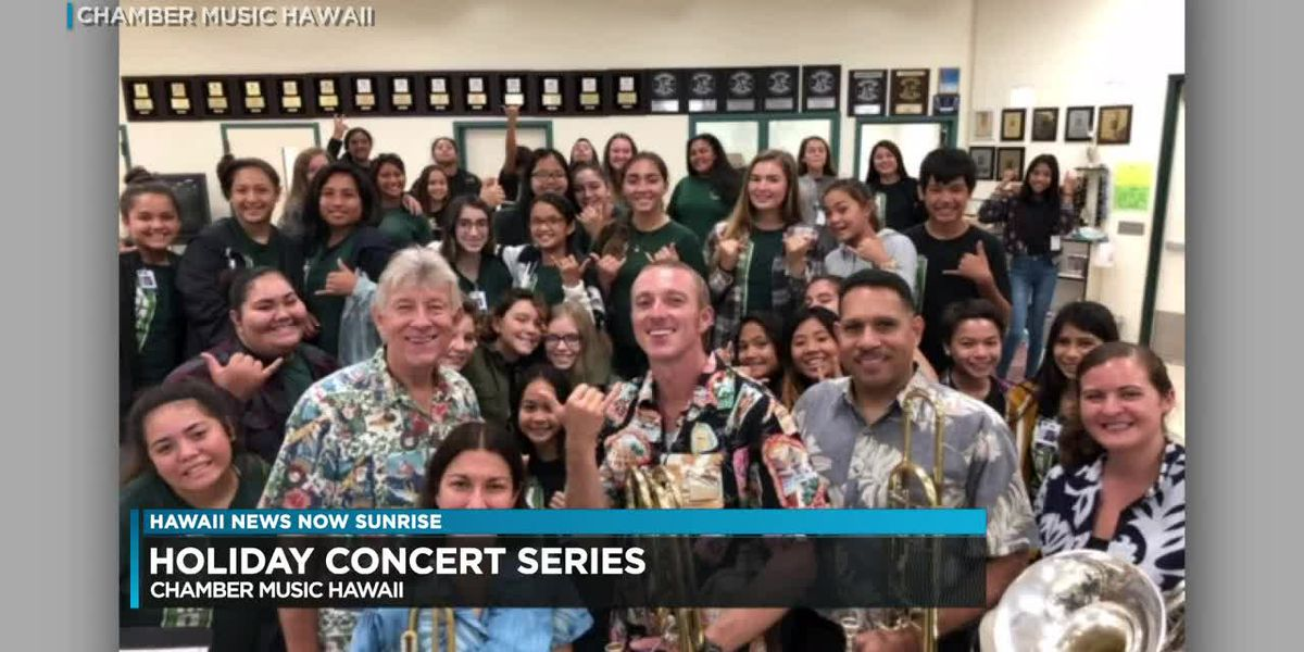 Chamber Music Hawaii to launch holiday concert series early December