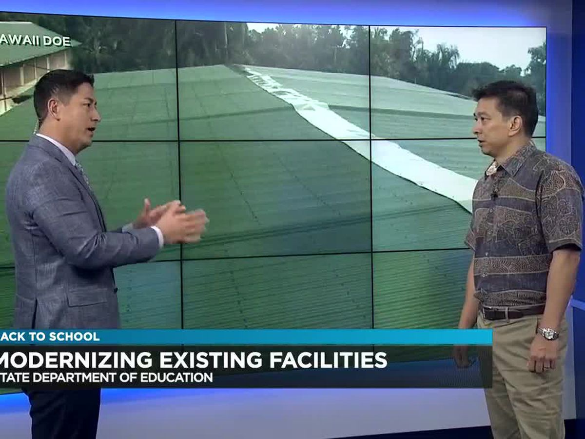 Back to School: Facility improvements in the DOE