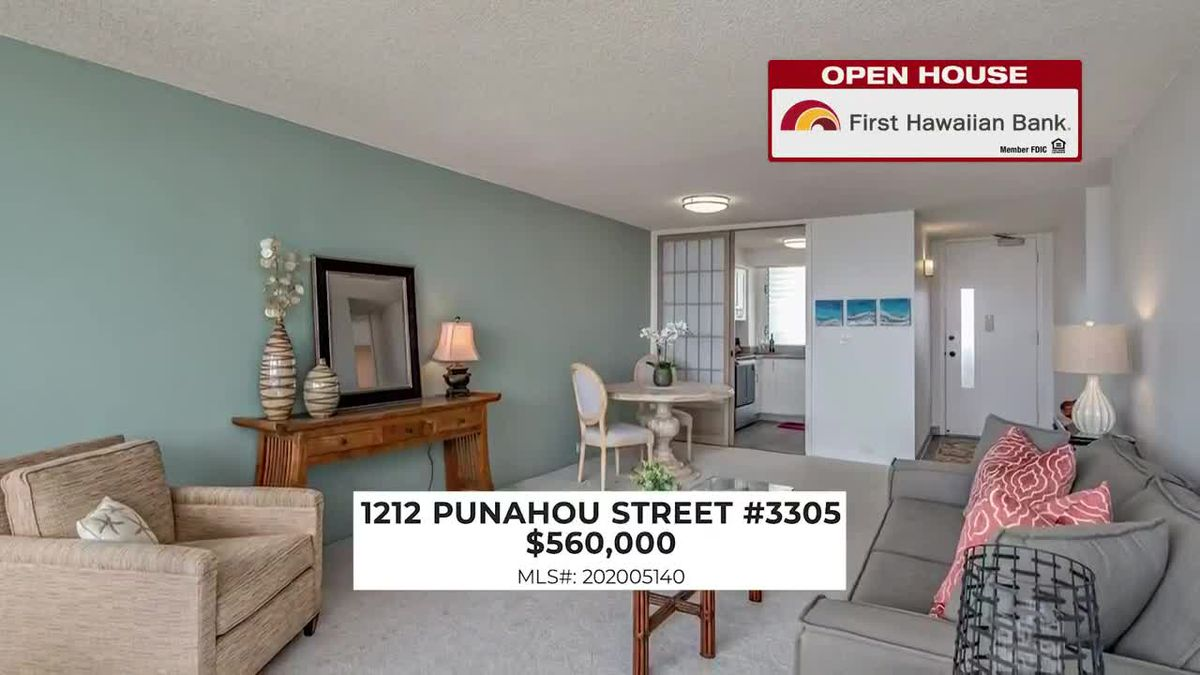 Open House: Condos in Punahou and Makiki