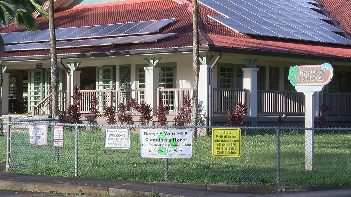 Hanalei Elementary School to reopen Tuesday
