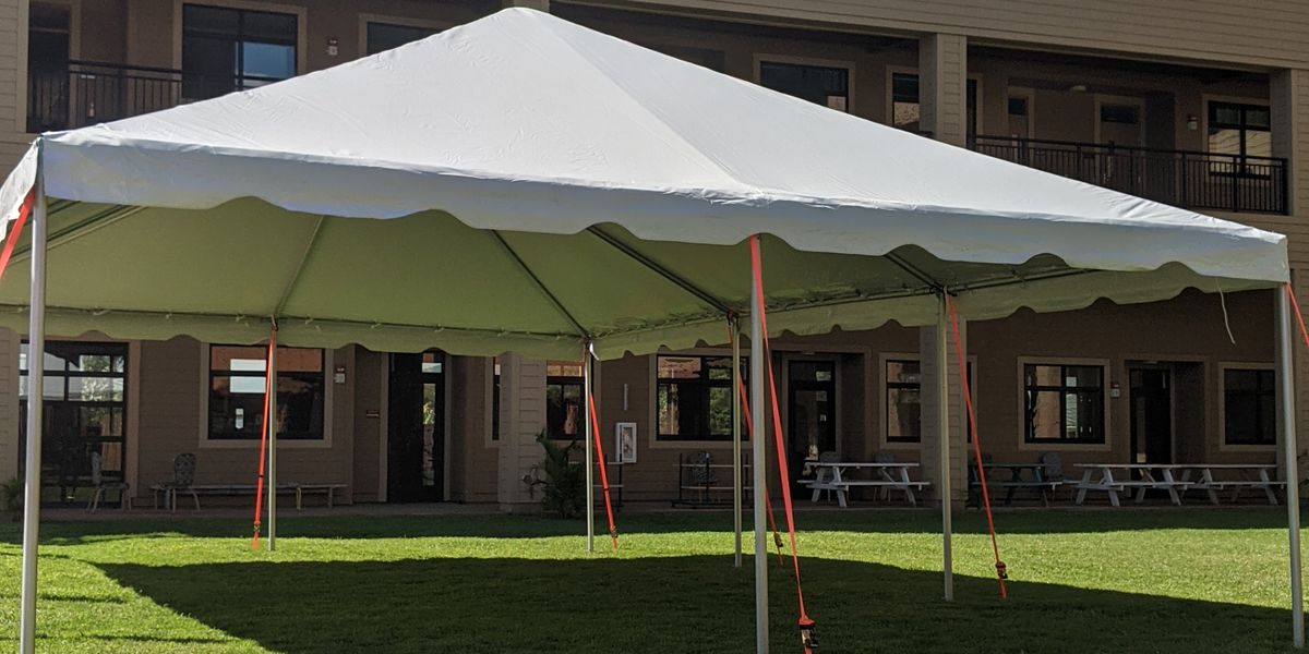 Tents offer an innovative solution to schools seeking socially-distanced classroom space
